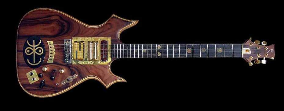 #64 psiliste elektrische gitaar