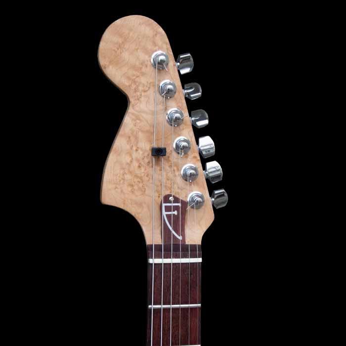 #68 stratocaster met mahonie body kop