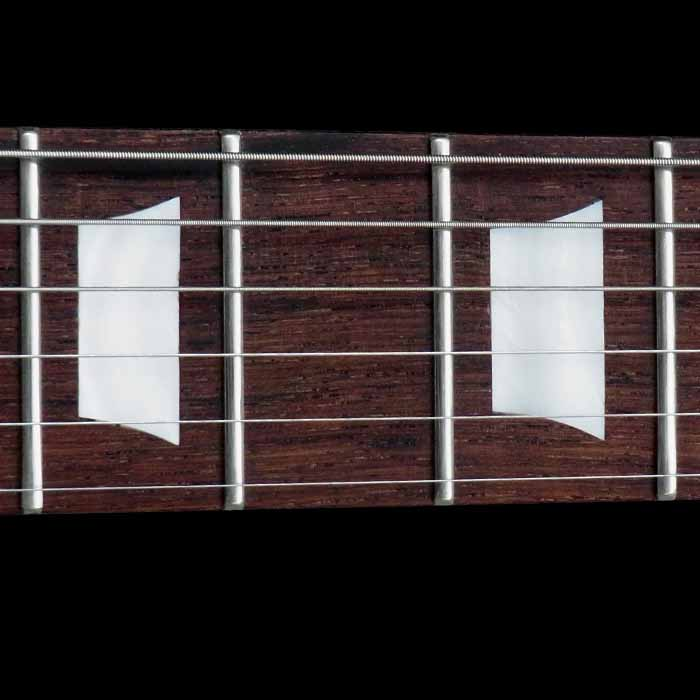 #68 stratocaster met mahonie body toets inleg