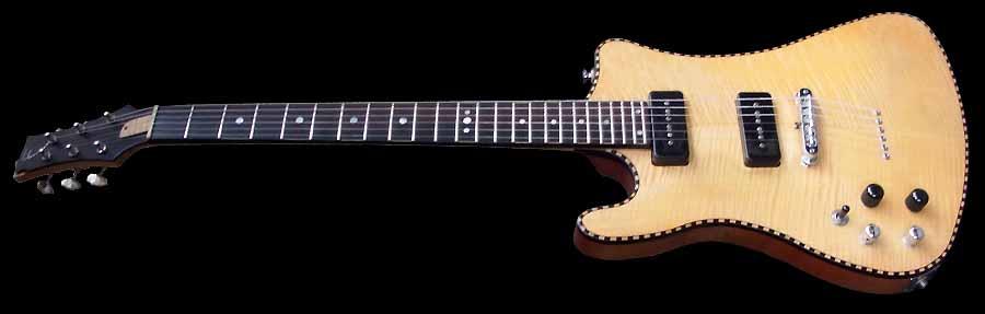 #7 prototype elektrische gitaar linkshandig