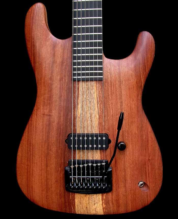 #74 baritone gitaar 8-snarig body