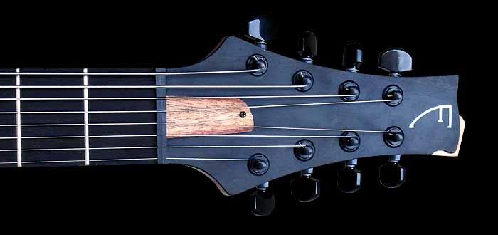 #74 baritone gitaar 8-snarig kop