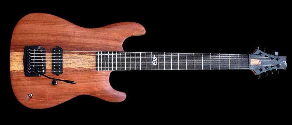 #74 baritone gitaar 8-snarig