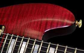 balans detail van de elektrische gitaar