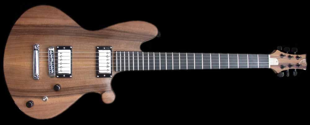 Custom-1 elektrische gitaar