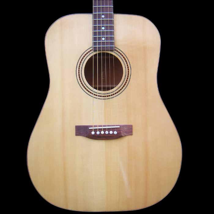 D-style akoestische gitaar body