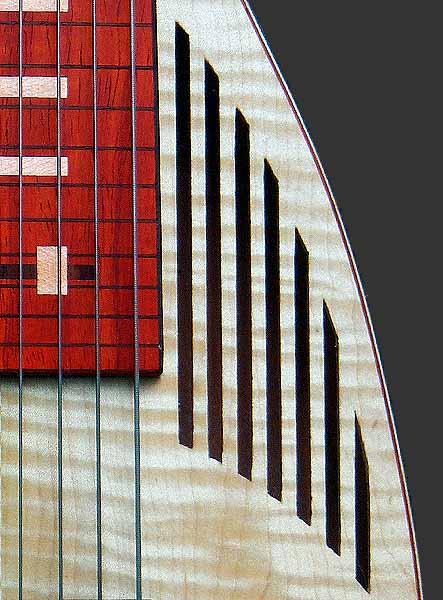 lichtgewicht lapsteel gitaar