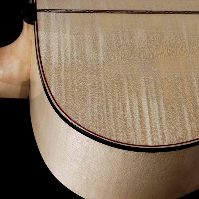 J-style akoestische gitaar hals verbinding