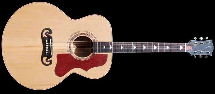 J-style akoestische gitaar