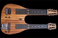 #50 dubbel hals lapsteel gitaar