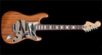 #68 Stratocaster met mahonie body