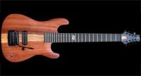 #74 baritone 8-snarige elektrische gitaar