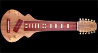 #86 12-snarige lapsteel gitaar