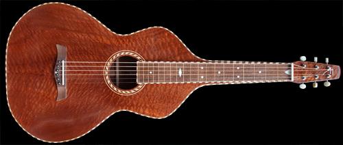 Weissenborn style akoestische slide gitaar