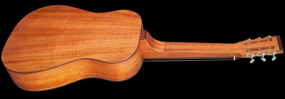 NVS Resonator gitaar achterkant schuin