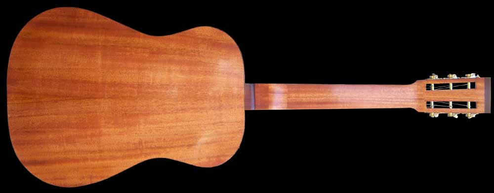 NVS Resonator gitaar achterkant