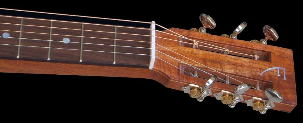 NVS Resonator gitaar kop voorkant