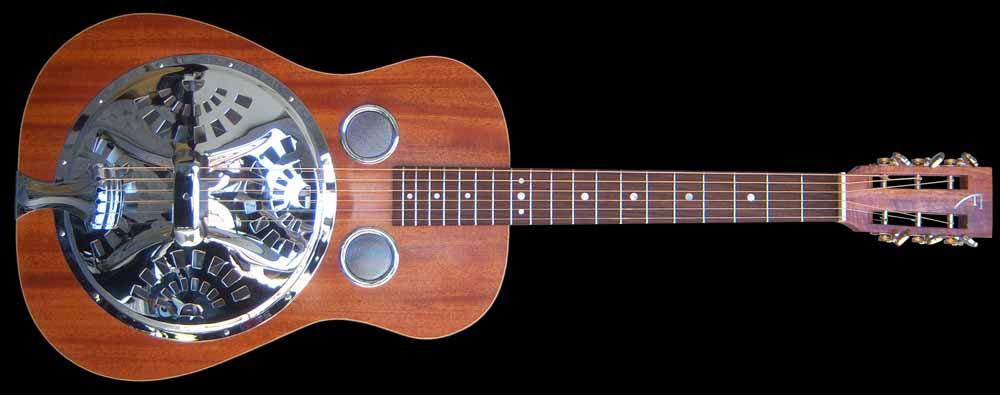 NVS Resonator gitaar voorkant