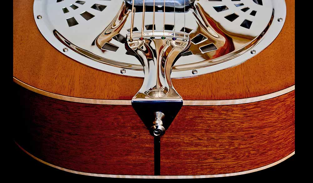 WRS Resonator gitaar tailpiece