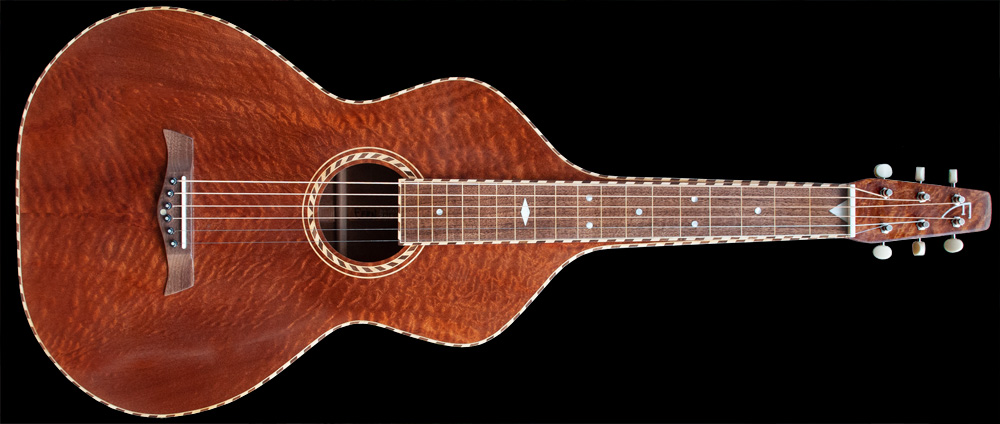 Ferns Guitars Weissenborn Style 3 akoestische lapsteel gitaar